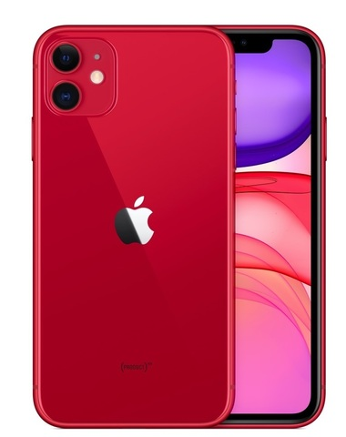 Смартфон Apple iPhone 11 64GB Red (красный) EAC (MHDD3RU/A)