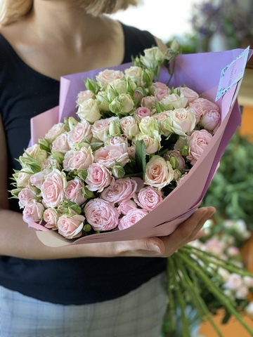 Pink Roses Delivery Tbilisi