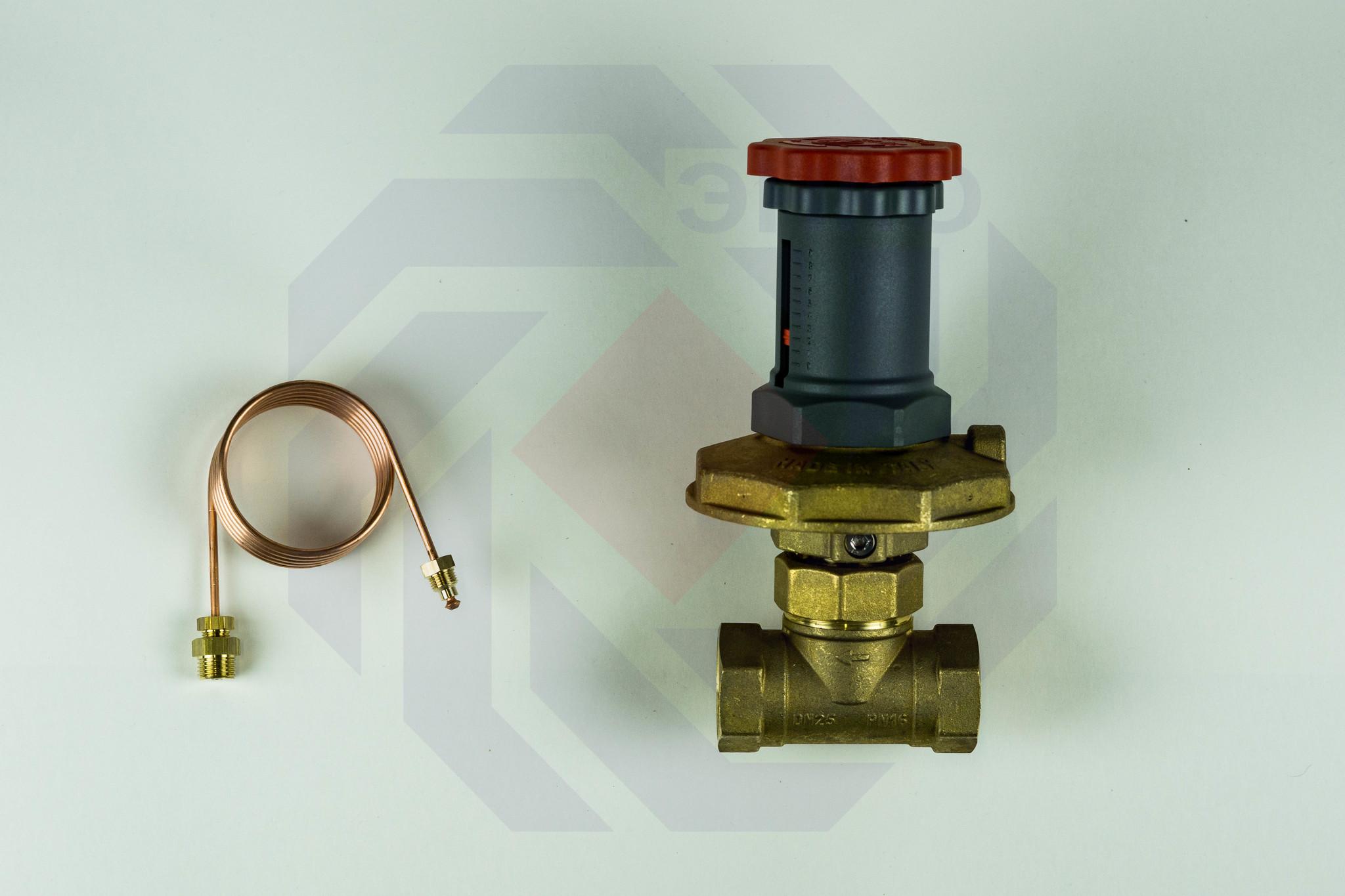 Регулятор перепада давления GIACOMINI R206C DN 25