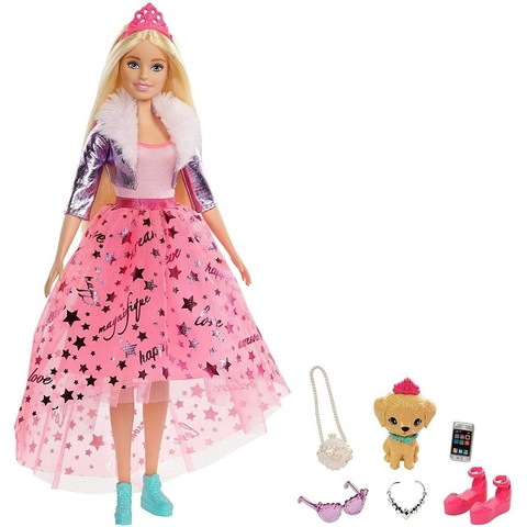 Барби Приключение Принцессы Блондинка - УПАКОВКА ПОВРЕЖДЕНА