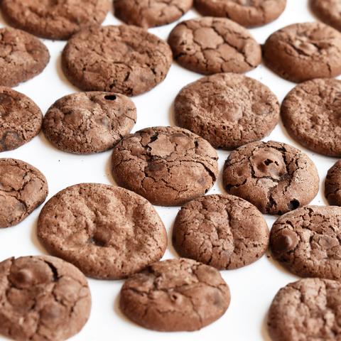 Печиво шоколадне з дропсами