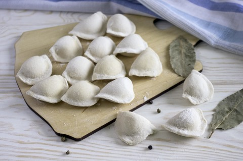 Вареники с картошкой и грибами