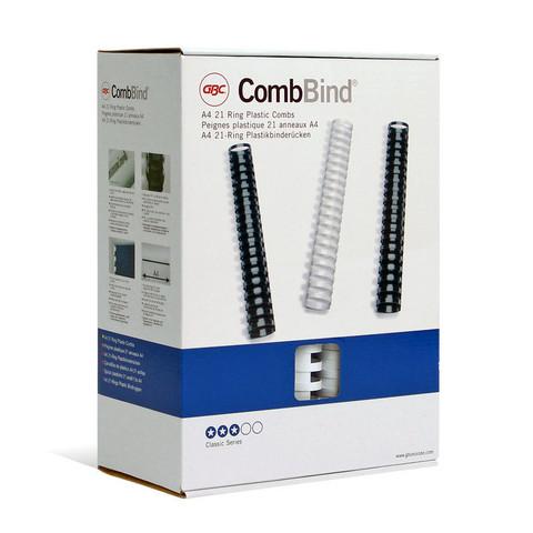 Пружины для переплета пластиковые GBC 51 мм белые (50 штук в упаковке)