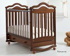 Детская кроватка Гандылян Анжелика качалка 120x60 см