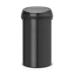 Мусорный бак Touch Bin (60 л), Черный матовый