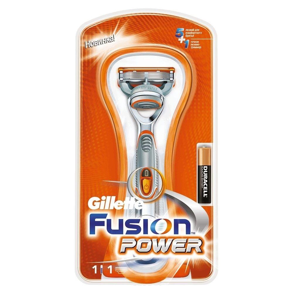 Бритвенный станок Gillette Fusion Power с 1 кассетой