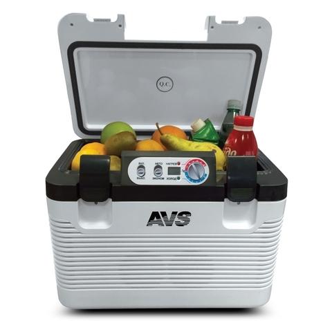 Термоэлектрический автохолодильник AVS CC-19WBC (12V/24V/220V, 19л)