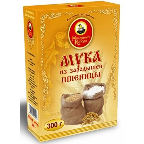 Зародышей пшеницы мука «Масляный король» 300 г.