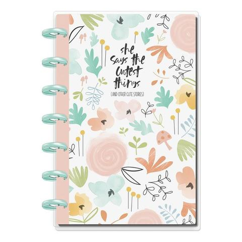 Блокнот в пунктирную линию-  Happy Planner Mini Notebook -80 л- She Said