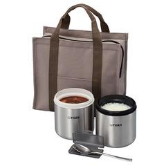 Контейнеры для еды в изотермической сумке Tiger LWY-W046 Brown