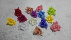 Цветок розы остроконечной 3,5-4 см.