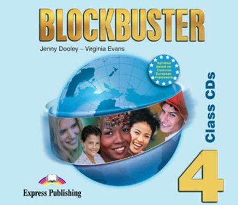 Blockbuster 4. Class Audio CDs. (set of 4). Intermediate. Аудио CD для работы в классе