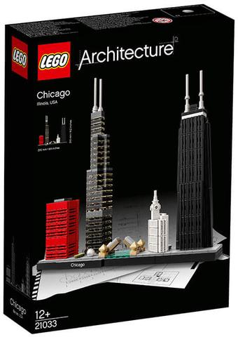 LEGO Architecture: Чикаго 21033 — Chicago — Лего Архитектура