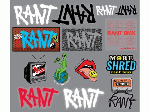 Наклейка Rant Pack 2020