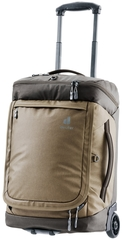 Сумка рюкзак на колесах Deuter Aviant Duffel Pro Movo 36 clay-coffee