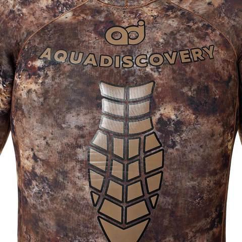 Гидрокостюм Aquadiscovery Кочевник Camo Brown V2 7 мм – 88003332291 изображение 7