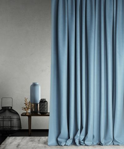 Готовая штора Балли голубой