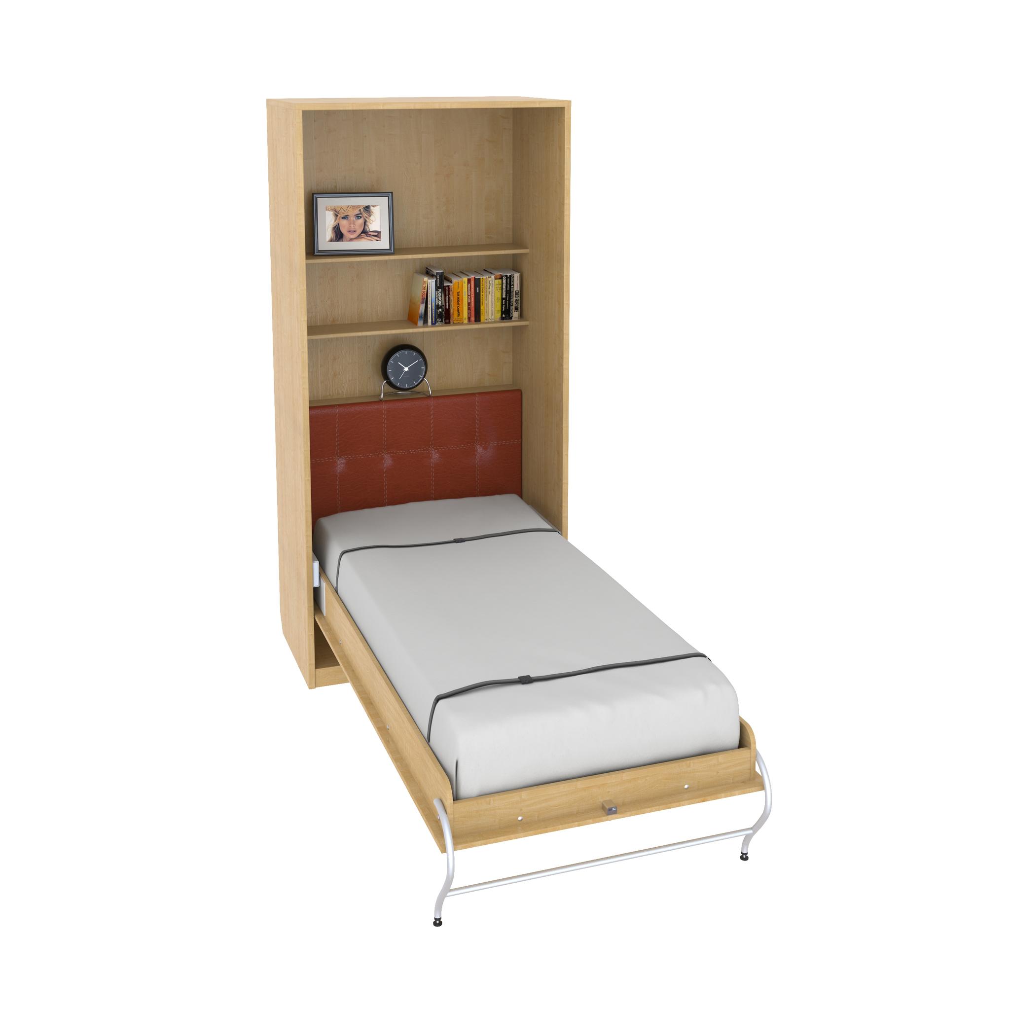 Шкаф-кровать вертикальная односпальная 90 или 80 см