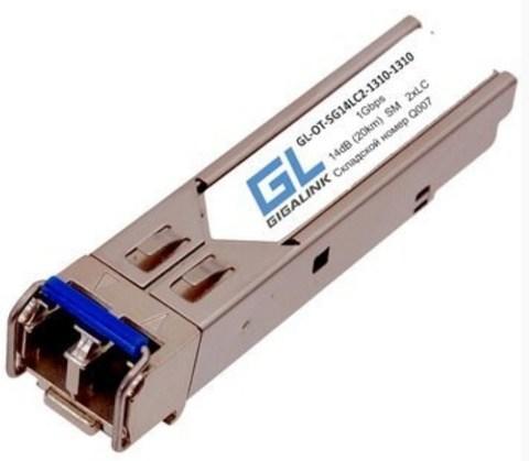 Оптический двухволоконный SFP модуль GL-OT-SG14LC2-1310-1310