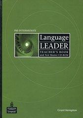 Language Leader Pre-Int TB +R**