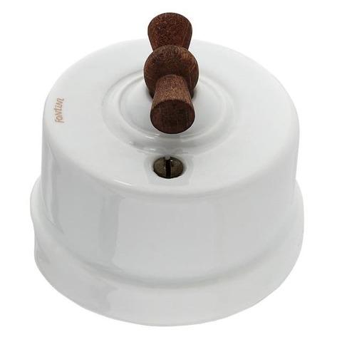 Выключатель поворотный 10А 250В~. Цвет Белый. Fontini Garby(Фонтини Гарби). 30306212