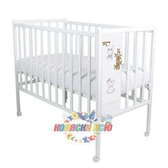 Кровать детская Magico LOFT PANDA (колесо, качалка)