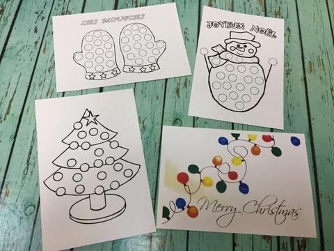 024-2694 Набор открыток (3 шт.) для пальчикового рисования