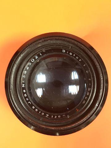 Carl Zeiss Jena Biotar F2.0 58mm