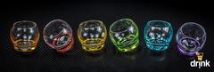 Набор из 6 цветных стопок Crazy, 60 мл, фото 2