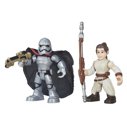 Рей и Капитан Фазма Playskool Heroes