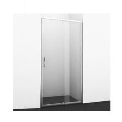 Дверь душевая в нишу распашная 120х200 см Wasserkraft Berkel 48P05 фото