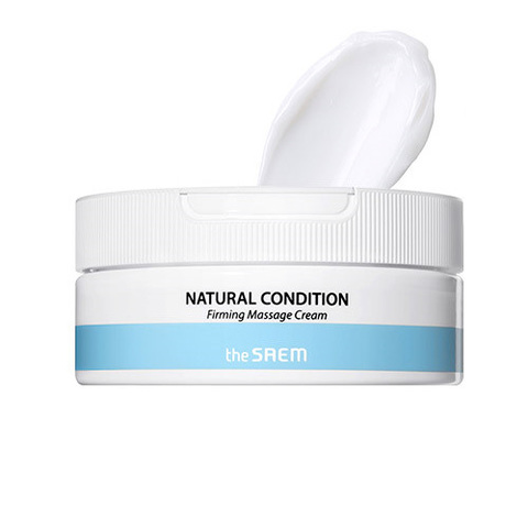 The Saem Natural Condition Firming Massage Cream укрепляющий массажный крем с маслом семян граната для лица и тела