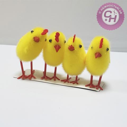 Цыпленок на ножках 7 см, 1 шт.