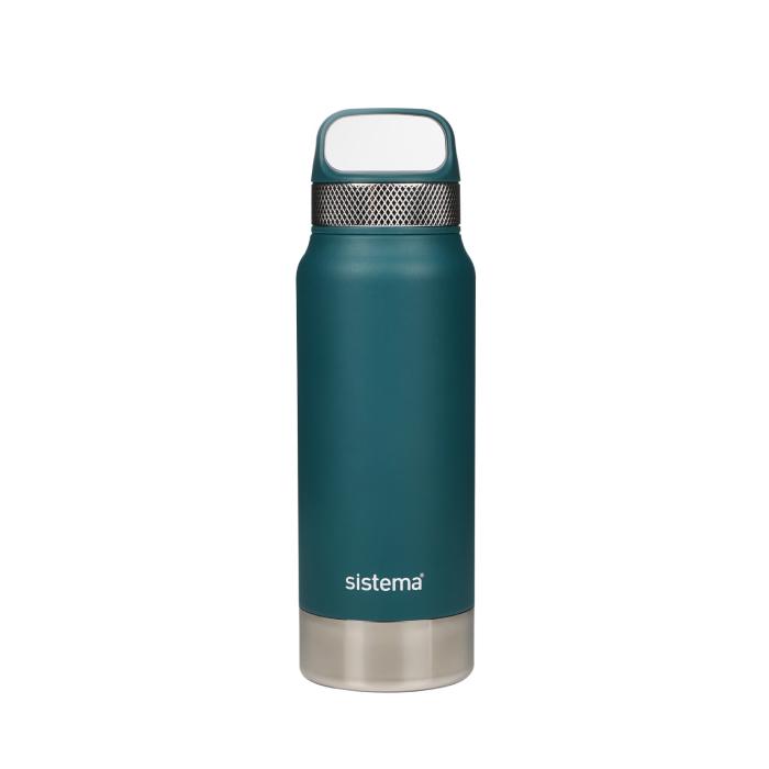 """Термобутылка Sistema """"Hydrate"""" 650 мл, цвет Зеленый"""