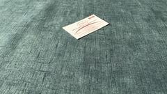 Велюр Штрих 13 сине-зеленый