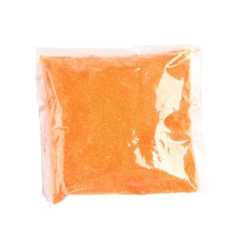 Блёстки в пакетике 80 г, цвет: оранжевый