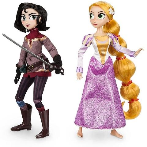 Дисней Рапунцель и Кассандра набор кукол 28 см