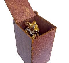 Позолоченная фигурка «Мышь - пират» 11см.