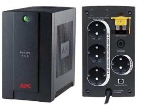 Источник бесперебойного питания BX650CI-RS APC Back-UPS 650 ВА