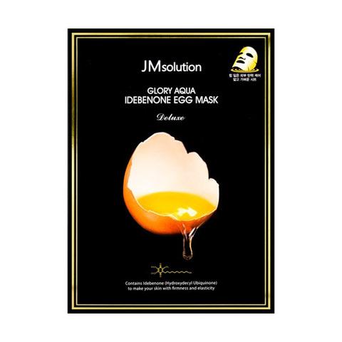 JMsolution Glory Aqua Idebenone Egg Mask увлажняющая яичная маска