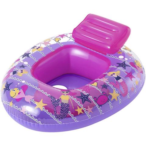 Плавательный круг Bestway 34126 Лодка (69x57 см), розовый / 25350