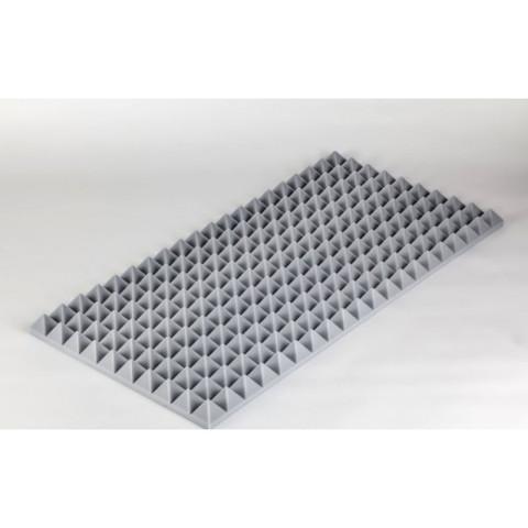 негорючая  акустическая панель  Пирамида ECHOTON FIREPROOF 100x50x5cm