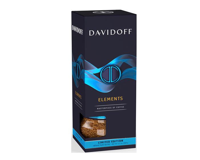 цена Кофе растворимый Davidoff Limited Edition Elements, 100 г