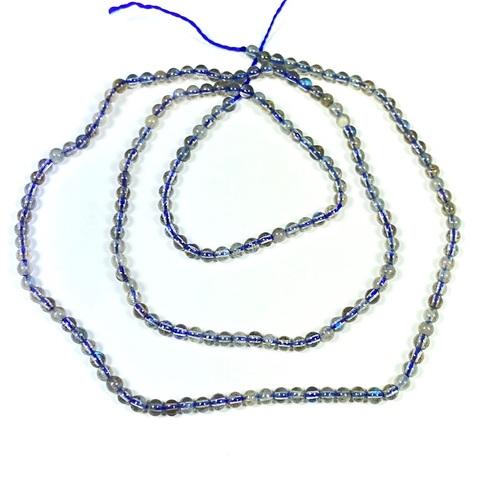 Бусины лабрадорит А шар гладкий 2 мм