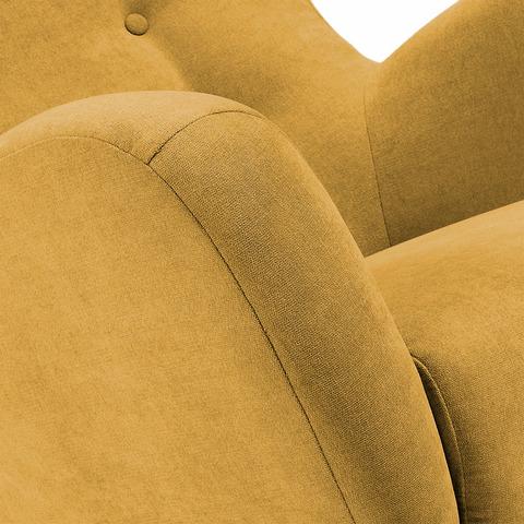 Кресло Passo горчичное