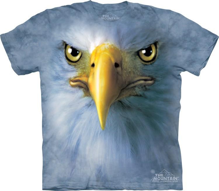 Футболка Mountain с изображением орла - Eagle Face