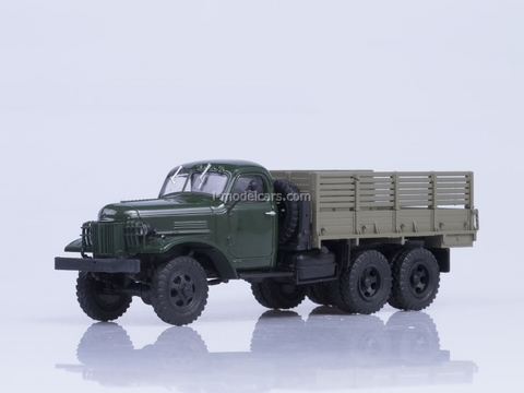 ZIS-151 board green-brown 1:43 AutoHistory