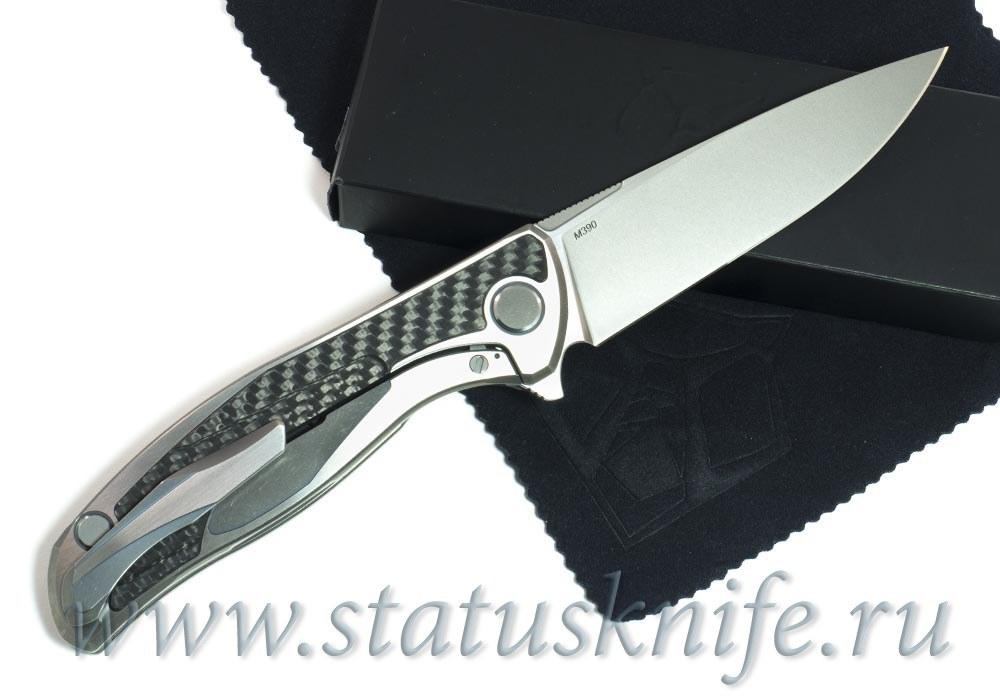 Нож Широгоров Ф95 CF M390 Кастом Дивижн - фотография