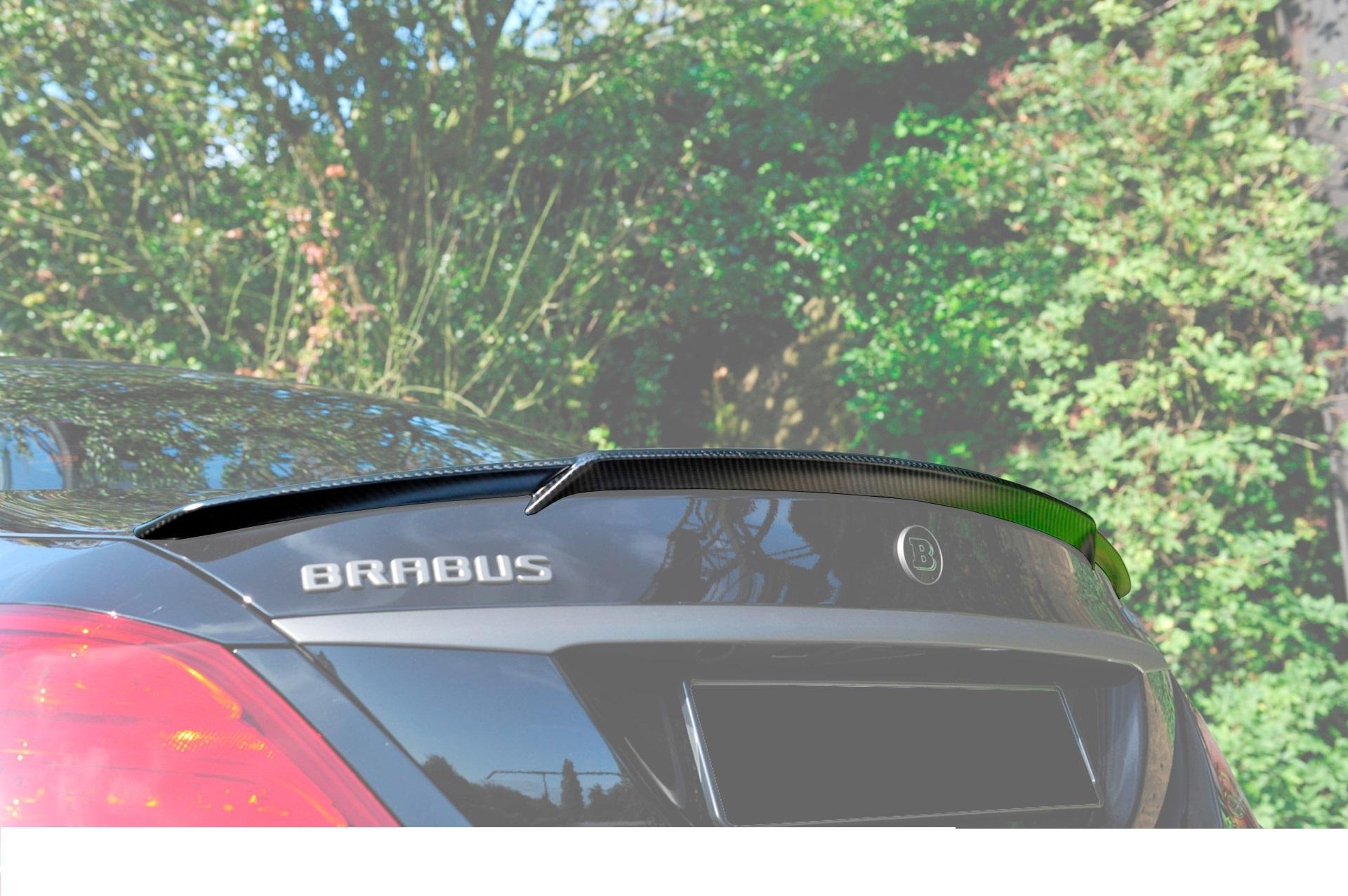 Карбоновый спойлер на багажник Brabus Style для Mercedes С-class W205