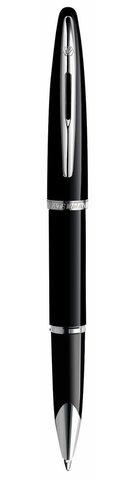Ручка-роллер Waterman Carene, цвет: Black ST, стержень: Fblk123